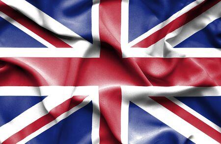 great britain: Great Britain waving flag