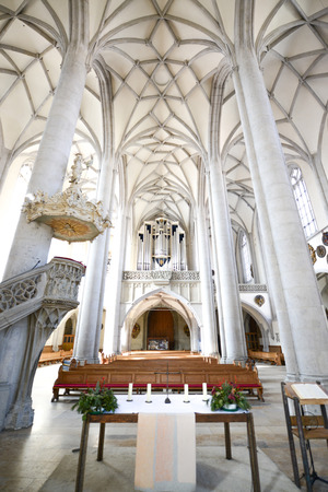 bayern old town: Cathedral in Nordlingen Germany