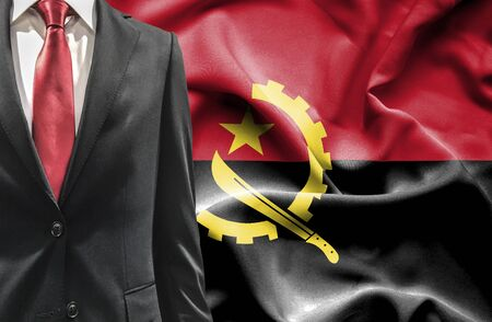 angola: Man in suit from Angola