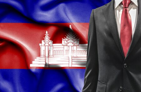 undercover agent: Man in suit from Cambodia