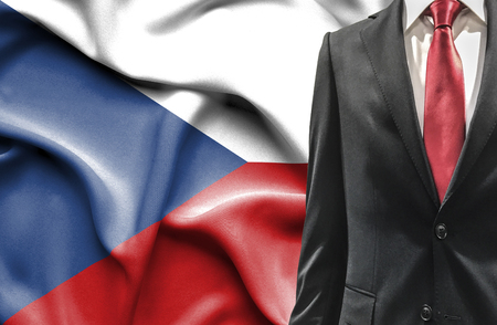 undercover agent: Man in suit from Czech Republic