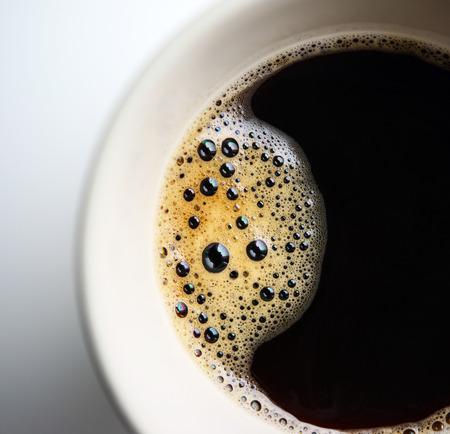 Extreme macro shot of coffee foam Reklamní fotografie