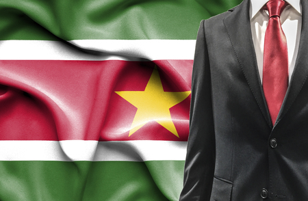 undercover agent: Man in suit from Suriname