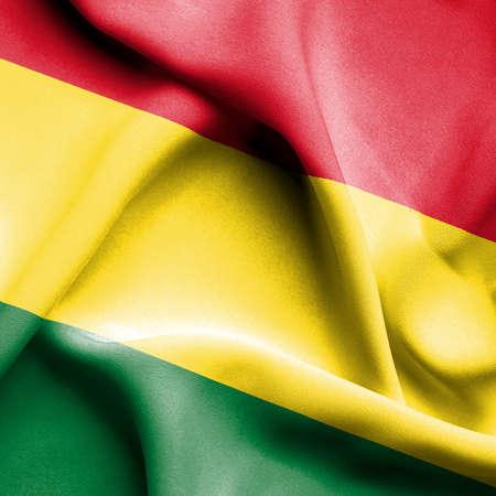 bolivia: Bolivia waving flag