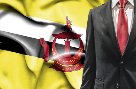 undercover agent: Man in suit from Brunei