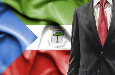 equatorial: Man in suit from Equatorial Guinea