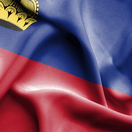 lichtenstein: Lichtenstein waving flag