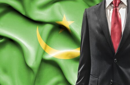 mauritania: Man in suit from Mauritania