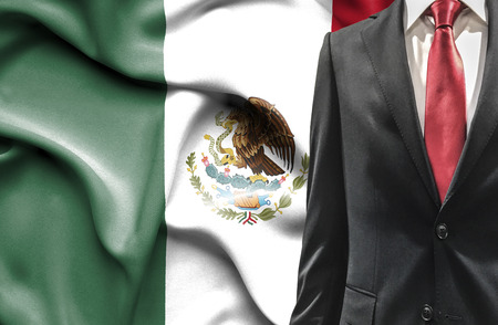 bandera de mexico: Hombre en el juego de México
