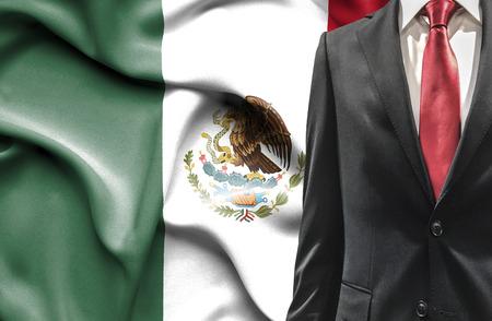 Man in pak van Mexico