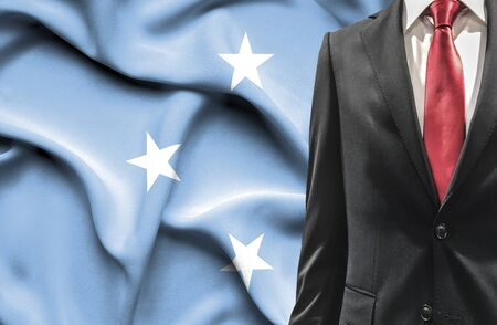 micronesia: Man in suit from Micronesia