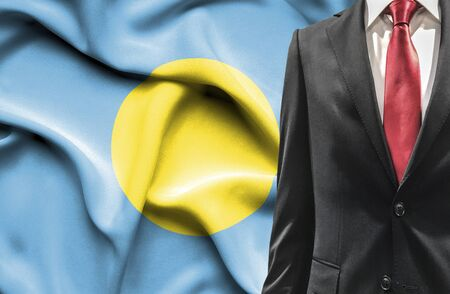 Man in suit from Palau photo
