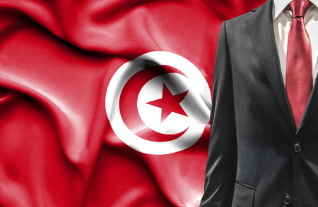 undercover agent: Man in suit from Tunisia