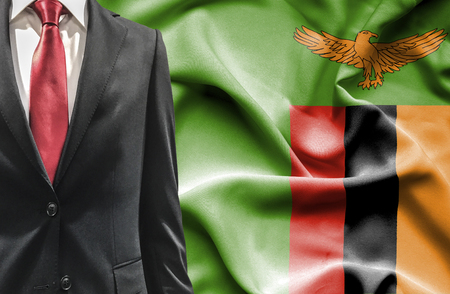 zambia: Man in suit from Zambia
