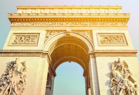 triumphe: Arc de Triomphe - Arch of Triumph Paris - France
