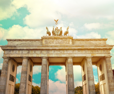 Brandenburg gate Berlin - Germany