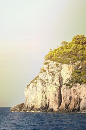zakynthos: Zakynthos coastline Greece