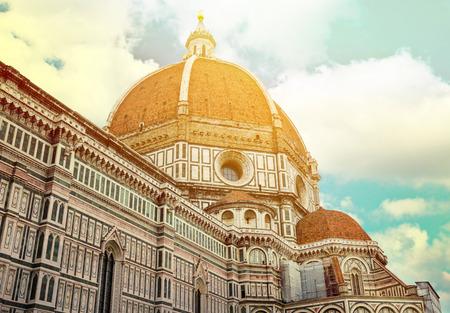 santa maria del fiore: Duomo Santa Maria Del Fiore and Campanile Florence - Italy