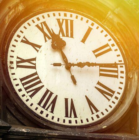 old clock: Old clock