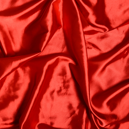 red silk: Smooth elegant red silk background Stock Photo
