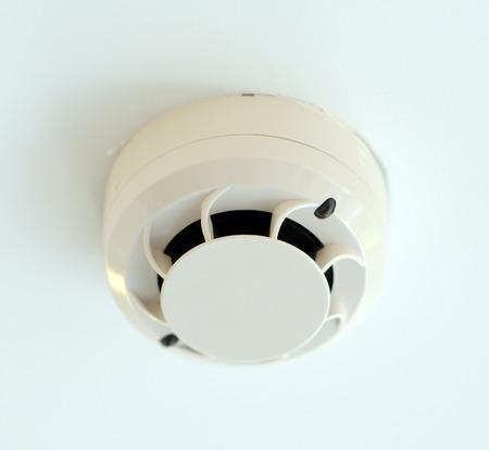 sensor: Fan with sensor for smoke Stock Photo