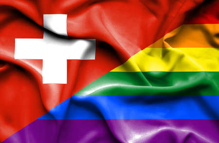 pride: Waving flag of Pride and Stock Photo