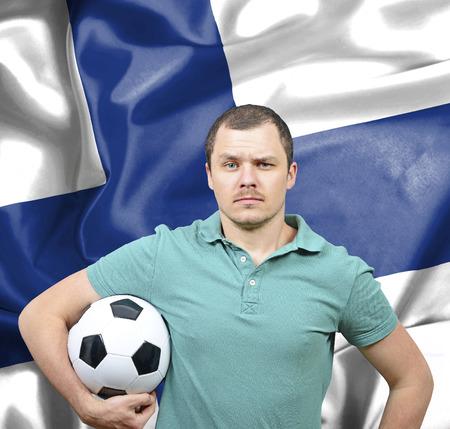 proud: Proud football fan of Finland