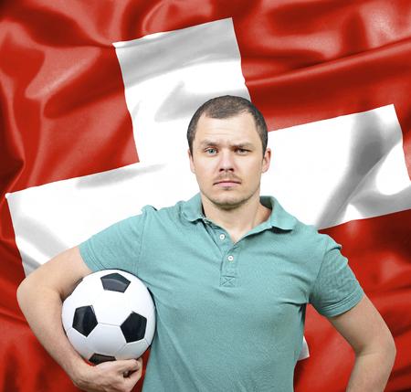 proud: Proud football fan of Switzerland