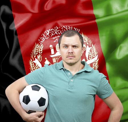 proud: Proud football fan of Afghanistan