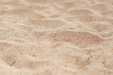 Beach sand close up shot with DOF