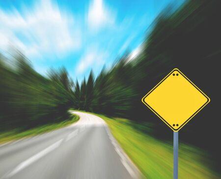 dangerous ideas: Blank sign - Business concept Stock Photo