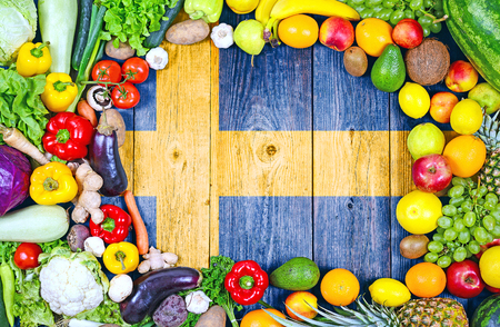 Fresh fruits and vegetables from Sweden