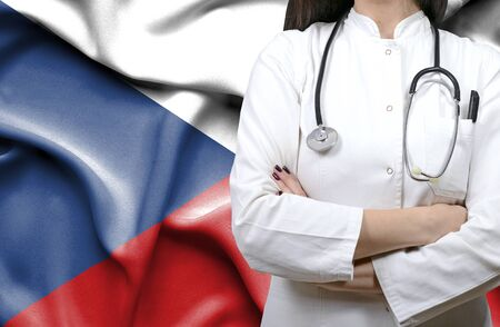 Conceptual image of national healthcare system in Czech Republic