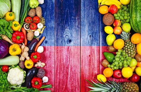 Fresh fruits and vegetables from Liechtenstein