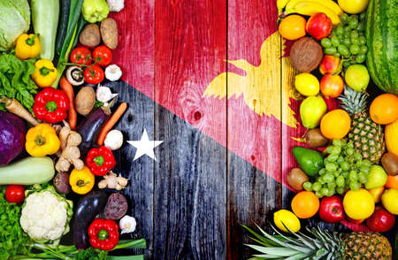 Fresh fruits and vegetables from Papua New Guinea