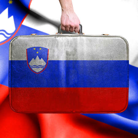 Travel to Slovenia 免版税图像