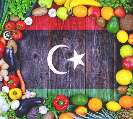 Fresh fruits and vegetables from Libya