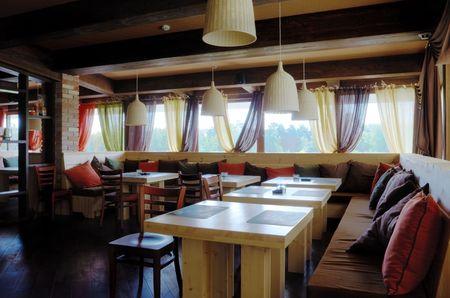 Modern High Class Luxury restaurant and cafe HDRi Stock Photo - 5787152