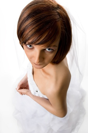 Funny bride Stock Photo - 20675364