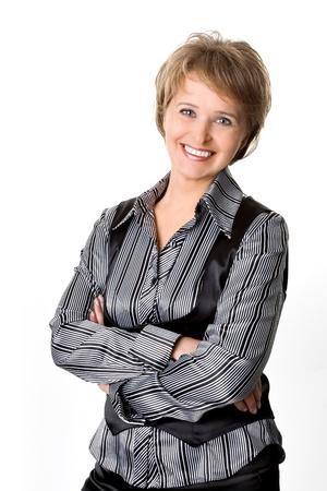 De zakenvrouw Stockfoto