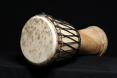 Djembe, african percussion, handmade wooden drum