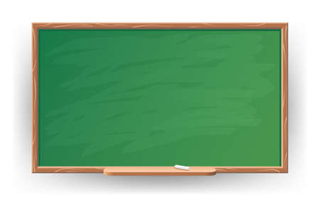 Empty Chalkboard Illustration