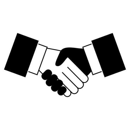 Handshake icon Ilustração
