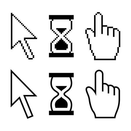 Cursor set Illustration
