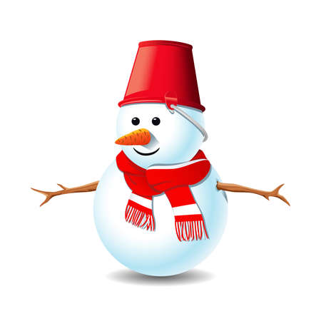 Snowman Ilustração