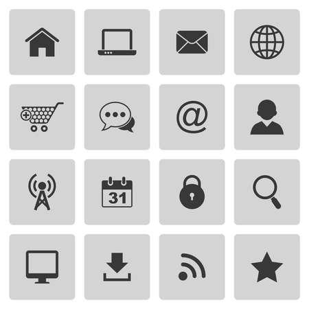 Internet-pictogrammen