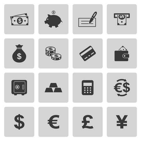 dollaro: Denaro icone