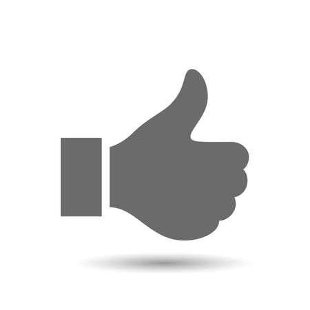 Vector als pictogram op een witte achtergrond Stock Illustratie