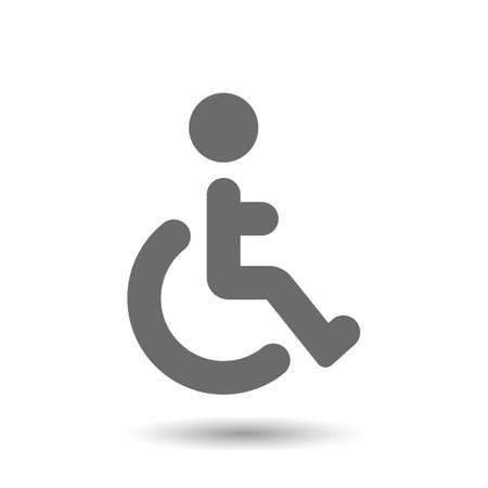 Vector disabled icon