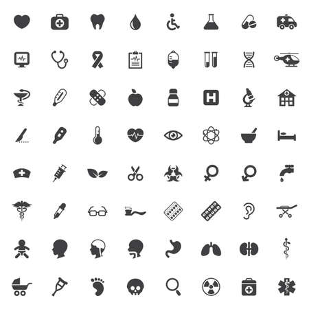 Set of medical vector icons